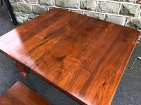 Antique Walnut Wind Out Extending Dining Table (12 of 13)
