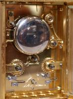 Bell Striking and Repeating and Alarm Gorge Case Carriage Clock (11 of 11)