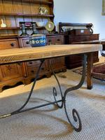 Spanish Wrought Iron Based Table (5 of 6)