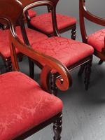 Set of 12 Scottish Mahogany Dining Chairs (7 of 18)