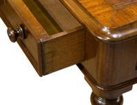 Mid 19th Century 2 Drawer Mahogany Writing Table (6 of 9)