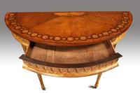 Fine Quality Early 20th Century Satinwood Pier Table (8 of 8)