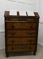 Large Victorian Mahogany Shop Display Music Cabinet (7 of 18)