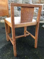 Antique Heals Oak Dressing Table & Stool (12 of 12)