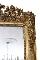19th Century Large Quality Gilt Wall / Overmantle Mirror (3 of 7)