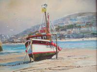 Wyn Appleford Oil on Canvas of St Ives Harbour, Cornwall (4 of 5)