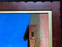 Augusta Coles Moroccan Cityscape Oil Painting Mahogany Fire Screen c.1911 (14 of 16)