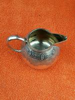 Antique Silver Plate 1/4 Pint Milk Jug (8 of 8)