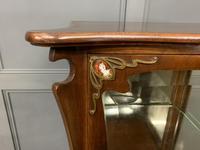 Art Nouveau Mahogany Vitrine (5 of 15)