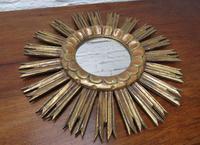 French Giltwood Sunburst Mirror (5 of 8)