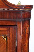 Antique Georgian Mahogany & Inlaid Corner Cupboard (9 of 13)