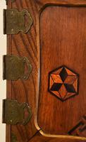 Excellent 19th Century Japanese Oriental Elm Jewellery Box / Table Cabinet (3 of 11)
