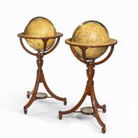 A pair of 12-inch floor globes by Cary (9 of 9)
