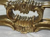 Large French Regency Gilt Pier Glass Acanthus Crown Wall Overmantle Mirror (4 of 13)