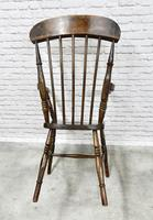 Antique Stick Back Armchair (3 of 6)