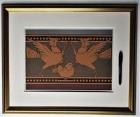 Christopher Dresser, Original 1875 Chromolithograph Print from Studies in Design, Framed (2 of 4)