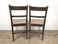 Pair of Welsh Antique Oak Farmhouse Chairs (2 of 11)