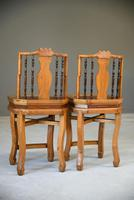 Pair of Asian Side Chairs (10 of 12)
