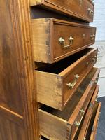 18th Century French Fruitwood Tall Chest of Drawers (9 of 18)
