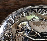 Charles Horner Pre-Raphaelite Silver Tray c1901 (3 of 4)