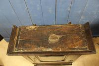 Late 17thC Oak Hanging Wall Cupboard. Mural or Spice Cabinet (2 of 17)