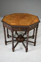 Victorian Octagonal Centre Table (4 of 12)