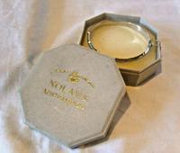 "Vintage Sterling Silver Bamboo Bangle Ornate Silver Bracelet 7 1/4"" Length (12 of 12)"