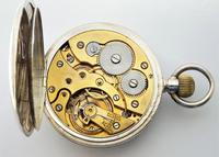 Antique 1919 Swiss Silver Pocket Watch (6 of 6)