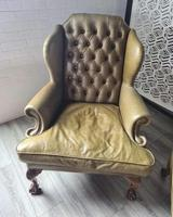 Pair of Leather Wing Chairs (6 of 10)
