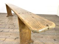 Long Antique Pine Bench (2 of 10)