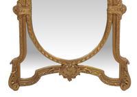 19th Century Gilt Framed Margin Mirror (3 of 3)
