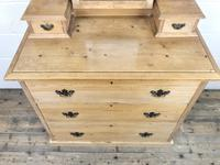 Antique Pine Dressing Table Chest with Drawers (3 of 11)