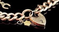 Antique 9ct Gold Curb Bracelet, Edwardian (3 of 9)