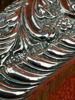 2 x Antique Sterling Silver Hallmarked Clothes Brush 1905 Williams (birmingham) Ltd (4 of 8)
