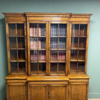 Super Quality Solid Oak Antique Library Bookcase (6 of 9)