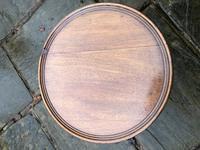 Antique Mahogany Tripod Wine Table (3 of 6)