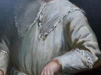 Gilbert Baldry (1876-1928) A Large Exceptional Edwardian Oil Portrait Painting (13 of 14)