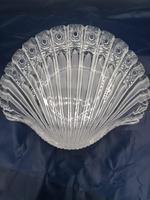 Old Bohemian Shell-shaped Glass Dish (3 of 4)