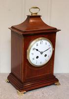 Mahogany Pagoda Style Mantel Clock (8 of 12)