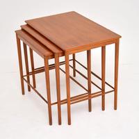 Danish Vintage Teak Nest of Tables by Grete Jalk (3 of 11)