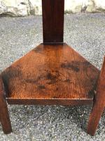 Pair of Arts & Crafts Oak Tables (5 of 9)