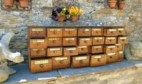 Charming Set of Antique Apothecary Drawers (9 of 10)