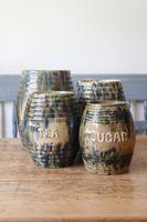 Scottish Pottery Slipware Barrel Storage Jars x4 (23 of 35)
