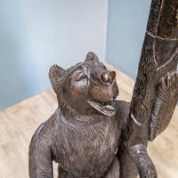 Black Forest Carved Bear Hall Stand (3 of 9)