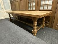 Rare Huge Oak French Farmhouse Dining Table (7 of 18)