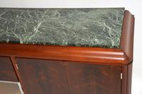 1920's French Art Deco Rosewood & Marble Sideboard (5 of 13)