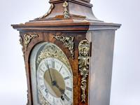 Burr Walnut Mantle Clock (5 of 7)