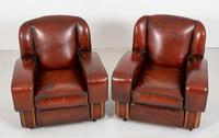 Good Pair of Art Deco Club Chairs (6 of 7)
