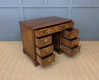 18th Century Burr Walnut Kneehole Desk (4 of 14)
