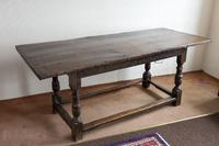 17th Century Oak Refectory Table (6 of 9)